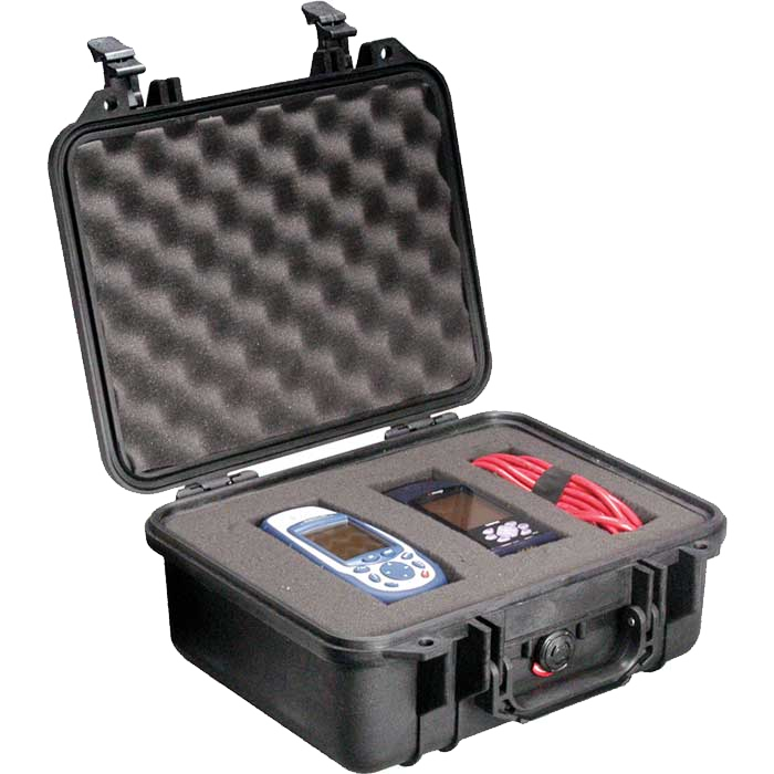 Pelican 1400 case with pick and pluck foam